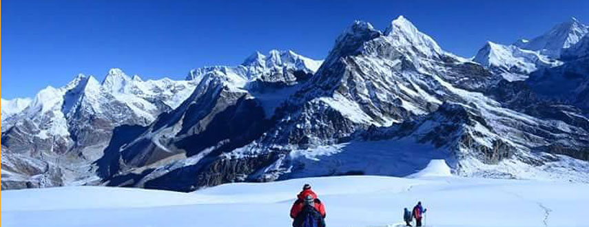 Island Peak Climb and Everest Base camp trek