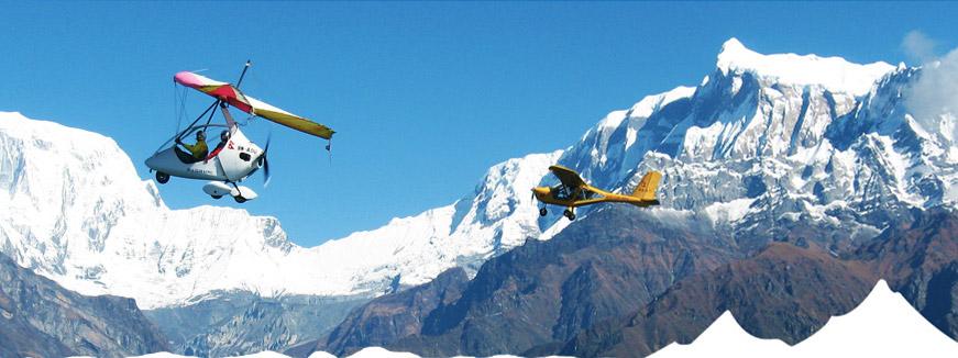 Ultra light Aircraft Tour in Nepal