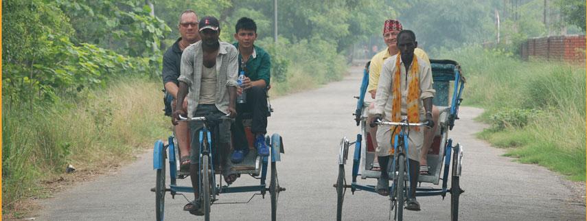 kathmandu durbar square rickshaw tour