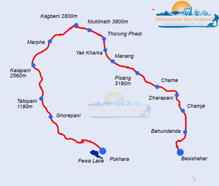 Annapurna Circuit Trekking Highest Thorong La Pass Trek