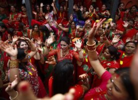 Teej The Festival For Women In Nepal